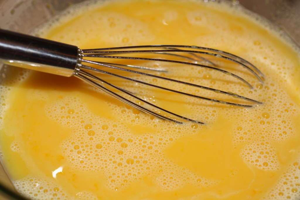 Whisking Lemon Curd