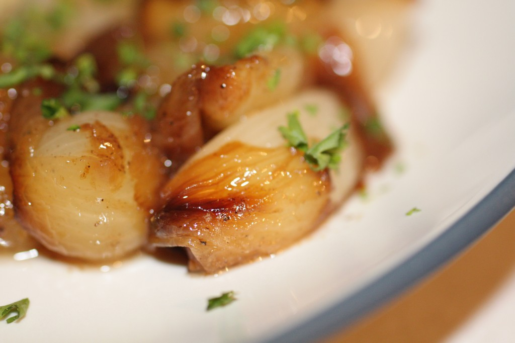 brown braised onions