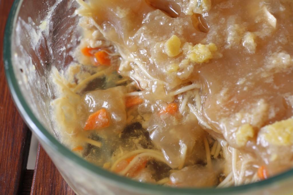 gelatinous soup